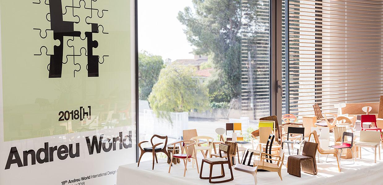 19º Concurso Internacional de diseño Andreu World busca talentos