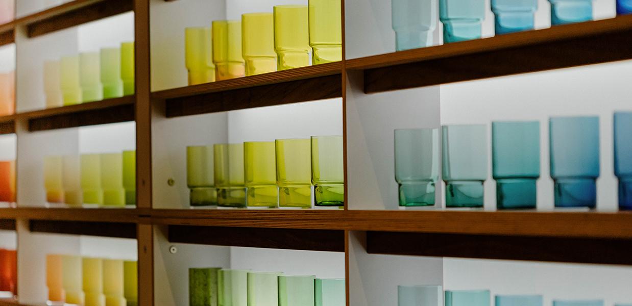 el arte en vidrio